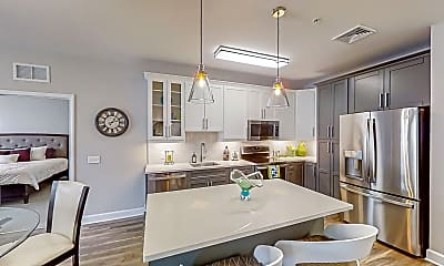 Kitchen, The Residences at The Promenade at Upper Dublin, 1