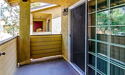 Patio / Deck, Citrus Gardens Apartments, 2