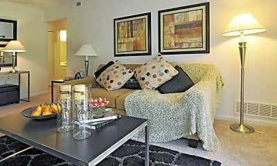 Living Room, Mapletree Apartments, 1