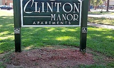Clinton Manor, 1