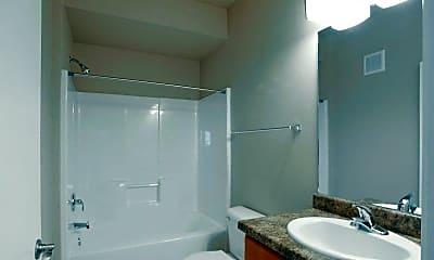 Bathroom, Broadway Heights Apartments, 2