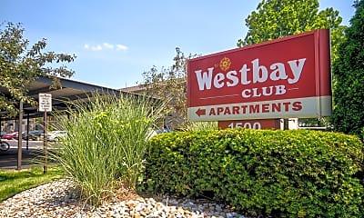 Community Signage, Westbay Club, 2