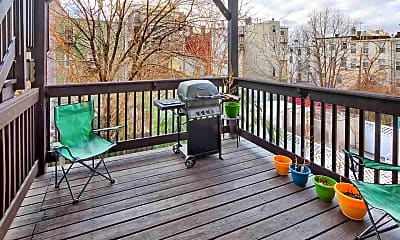Patio / Deck, 407 2nd St 2R, 0