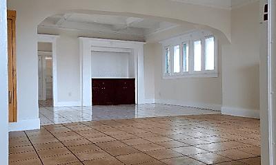 Living Room, 1241 W 46th St, 1