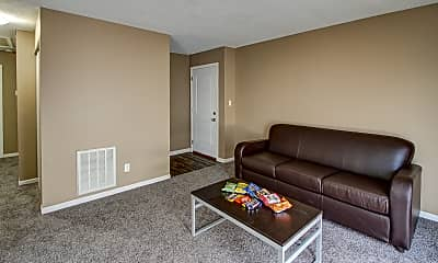 Living Room, The Annex of New Albany Student Housing, 1