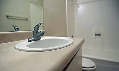 Bathroom, Canyon Del Sol Apartments, 2