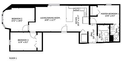 Bedroom, 1056 N Damen Ave., 2