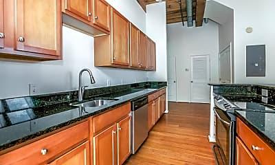 Kitchen, Clipper Mill Apartments, 2