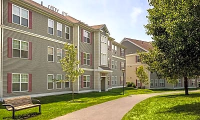 Building, Franklin Commons Apartments, 1