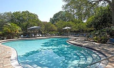 Pool, Oak Ramble Apartments, 1