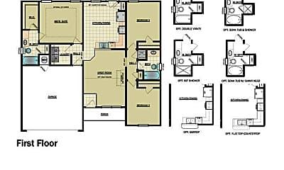 Building, 3833 Remington Dr, 1
