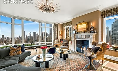 Living Room, 15 Central Park West 37-A, 0