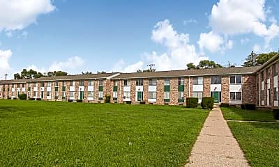 Building, Park Layne Apartments, 1