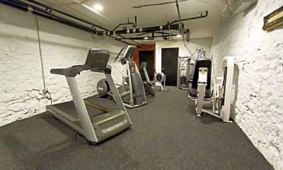 Fitness Weight Room, 1100 Spruce St, 1