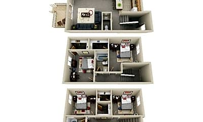 Hillcrest Apartments & Oakwood Townhomes, 2