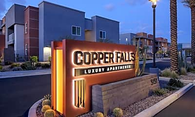 Community Signage, Copper Falls, 2
