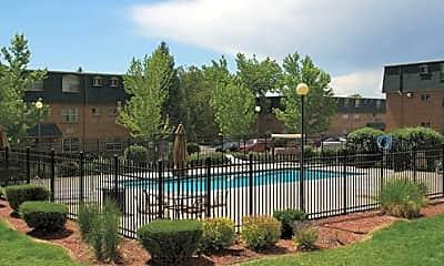 Pool, Ten 30 Apartments, 1