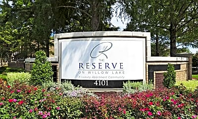 Community Signage, The Reserve on Willow Lake, 2