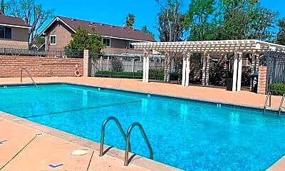 Pool, 22741 Bassett St, 2