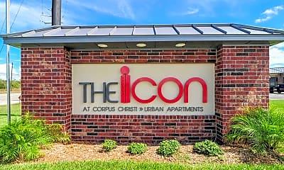 Community Signage, The Icon at Corpus, 2
