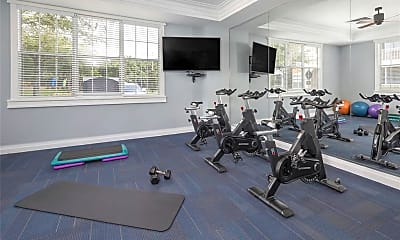 Fitness Weight Room, 1820 Crosstown Club Pl A1, 2