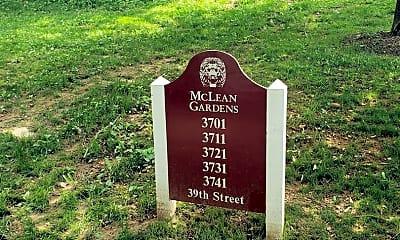 Community Signage, 3711 39th St NW F192, 1