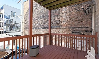 Patio / Deck, 1448 W Chicago Ave, 2