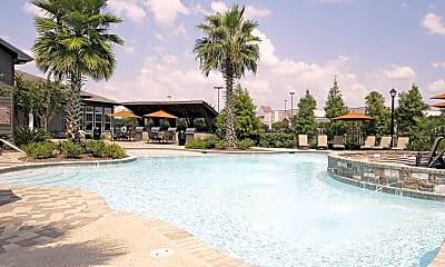 Pool, The Greystone Apartment Homes, 1