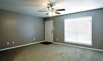 Living Room, Willows Apartments, 0