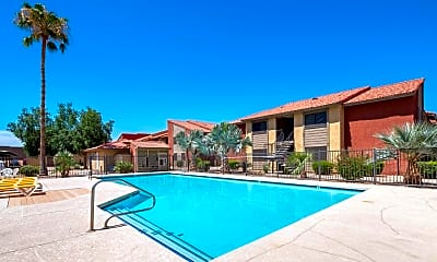 Pool, Cordova Apartments, 2