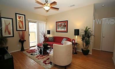 Living Room, 1003 Justin Lane, 0