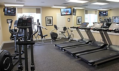 Fitness Weight Room, Meadowood Apartments, 2