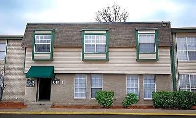 Building, Evergreen Apartments, 1