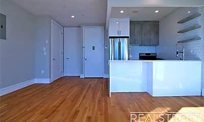 Living Room, 159 Hart St 3F, 1