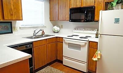 Kitchen, Ashwood Park Apartment Homes, 2