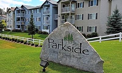 Community Signage, Parkside at Mirabeau Apartments, 2