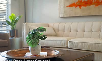 Living Room, Avery Park Apartments, 1