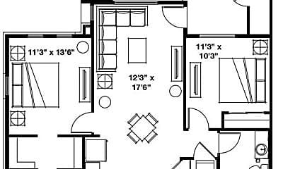 Building, 688 W. Nicholes Lane, 2