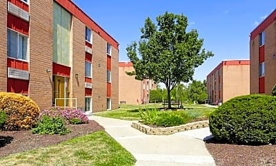Building, Churchview Garden Apartments, 1