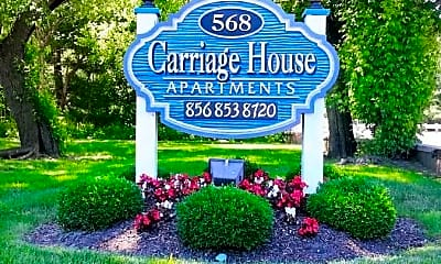 Community Signage, Carriage House Apartments, 2