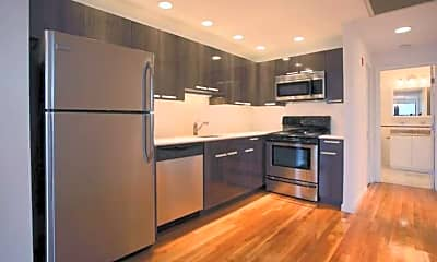 Kitchen, 107 Queensberry Street Apartments, 1