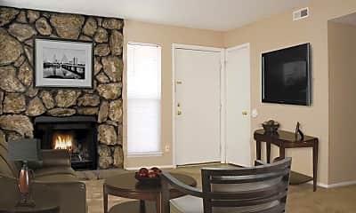 Living Room, Ponderosa Apartments, 0