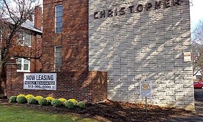 Community Signage, Christopher House, 1