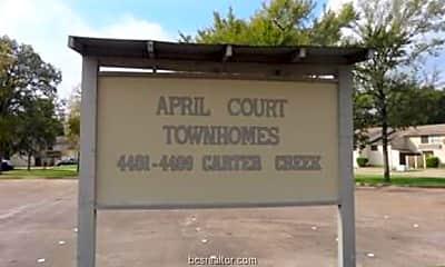 Community Signage, 4405 Carter Creek Pkwy 12, 2