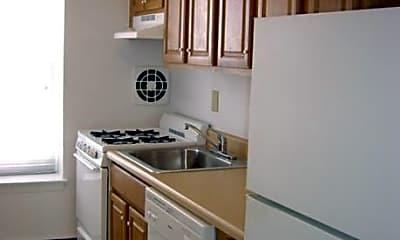 Kitchen, White House Apartments, 1