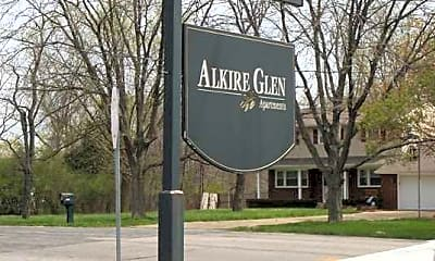 Community Signage, Alkire Glen, 2