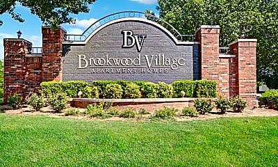 Community Signage, Brookwood Village, 2