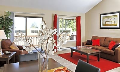 Living Room, The Bluffs at Mountain Park, 1