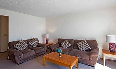 Living Room, Jillian Square Apartments, 1