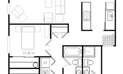 Cedar Terrace Apartments, 2